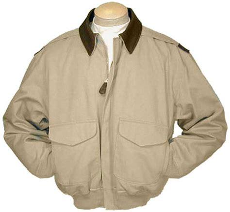 Jaket Bomber Pilot Canvas Marsmello cockpit mens cotton a 2 flight jacket with leather collar