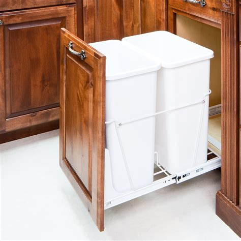 trash can cabinet dimensions trash cans
