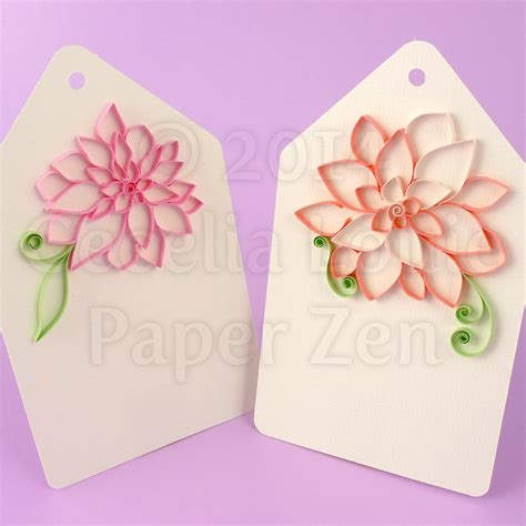 quilling strips tutorial paper zen quilling tutorial outlined flowers