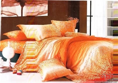 Orange Bedding Sets Orange Bedding Bedroom Ideas Pictures
