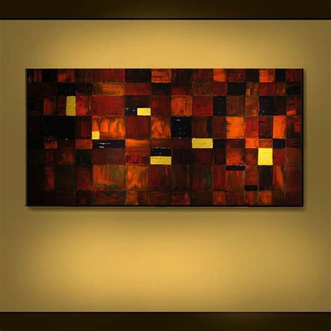 earth tones paint original painting modern earth tone abstract large 24x48