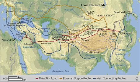 the silk roads a okar research great khorasan road the silk route