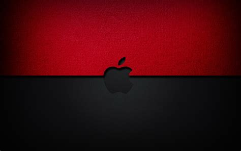 Apple Wallpaper Red And Black | black and red apple wallpapers and images wallpapers