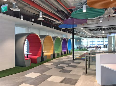 agoda office inside our brand new singapore office guoco tower