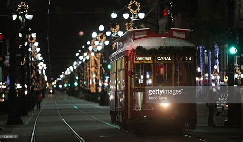 New Orleans Residents Embrace The Holiday Season Getty Lights In New Orleans
