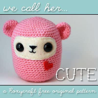 amigurumi cute pattern free free amigurumi patterns