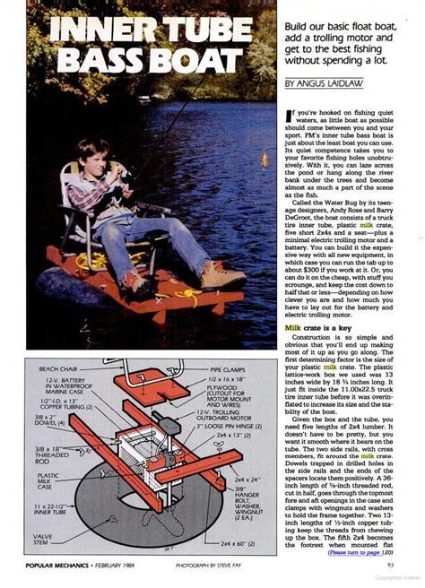 inner tube boat trolling motor need ideas for a homemade river tube update bad pics pg