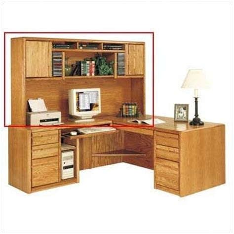 kathy ireland home by martin contemporary deluxe hutch