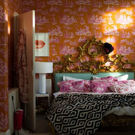 orange and gold bedroom orange and gold toile bedroom decorating ideas for