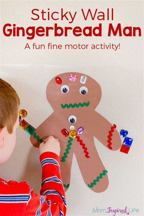 christmas art for kindergarten gingerbread activity arts and crafts gingerbread activities and