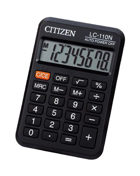 Kalkulator Citizen Lc 110n Asli lc 110n citizen calculator