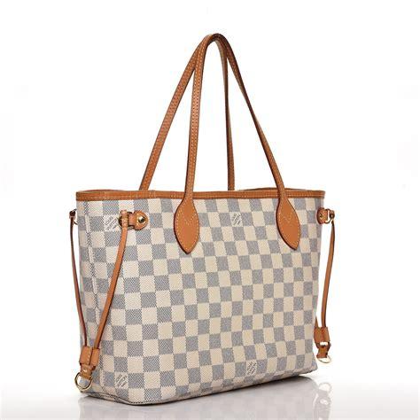Louis Vuitton Damier Azur Line by Louis Vuitton Damier Azur Neverfull Pm 229845