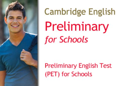 test inglese b1 pdf cambridge preliminary test pet for schools b1