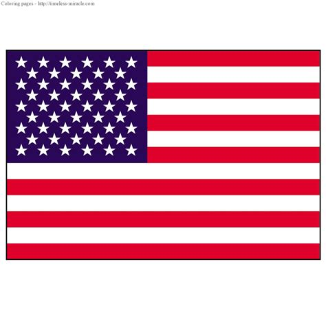 usa flag to color timeless miracle