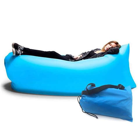 inflatable beach bed fast inflatable hiking air sleeping bag cing bed beach