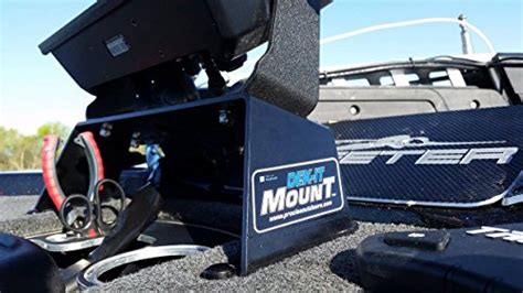 bass boat fish finder mounts procise outdoors dek it boat fish finder mount bassmaster