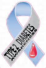 diabetes ribbon color ribbon diabetes awarness 1 1 type 2 stickit2themax