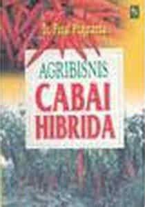 buku agribisnis cabai hibrida penebar swadaya