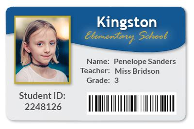 student id card template png school id card ideal vistalist co