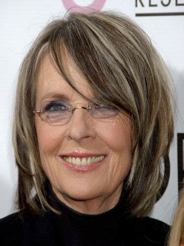 diane keatons layer cut diane keaton hairstyles for women over 60 diane keaton