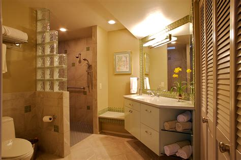 Glass Block Bathroom Designs Bathroom Remodel Tucson