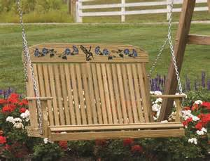 amish hummingbird porch swing by dutchcrafters amish furniture