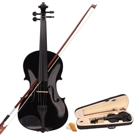 Biola Violin 1 4 high quality musical instrument 4 4 size acoustic