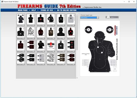 printable playing card targets firearms guide