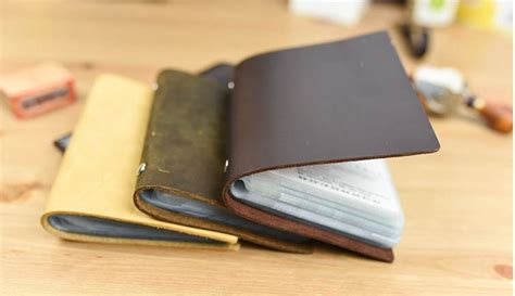 Id Card Murah Id Card Holder Cover Handmade Leather Kulit Asli aliexpress buy leather cover handmade diy