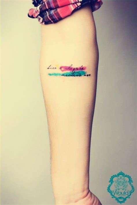 small phrases for tattoos 25 best ideas about small watercolor on