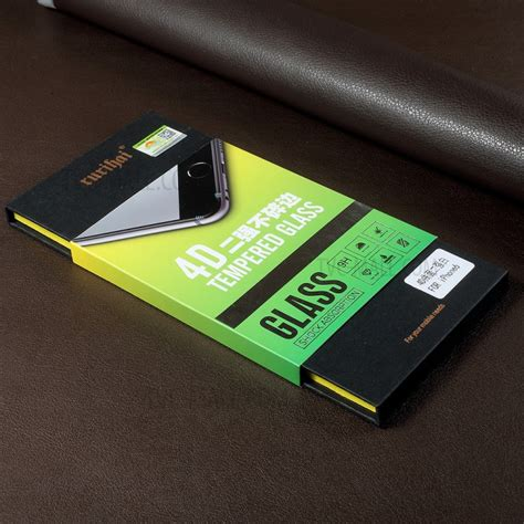 Tempered Glass Screen Protector 4d Curved Cover Ip Murah rurihai solid defense 4d curved complete cover tempered
