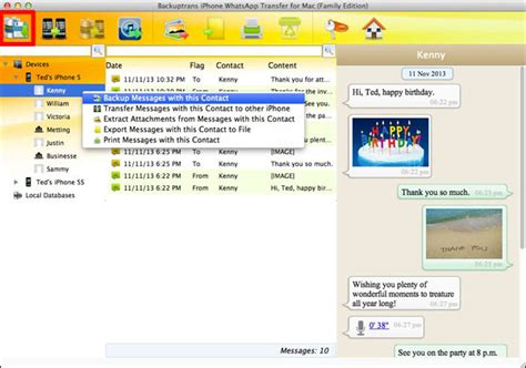 tutorial whatsapp transfer transfer whatsapp chat history from iphone to mac for backup