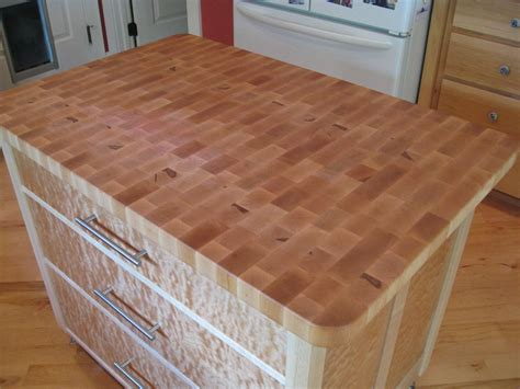 small bamboo butcher block island top for kitchen island