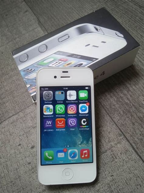 Hp Iphone 4 Model A1332 apple iphone 4 8gb white in original box simlock