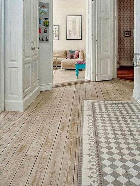 suelos increibles  pisar pisos de madera pintados