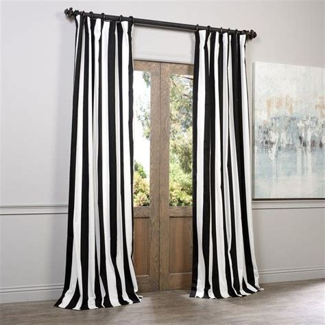 elegant black curtains the pleasant white curtains home and textiles