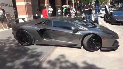 black chrome lamborghini pur black chrome lamborghini aventador flames start up