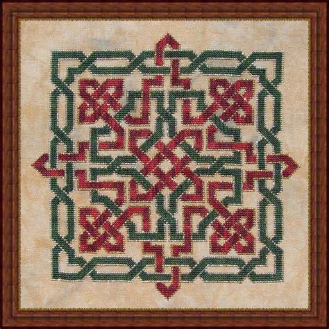christmas needlepoint pattern christmas knot counted cross stitch pattern