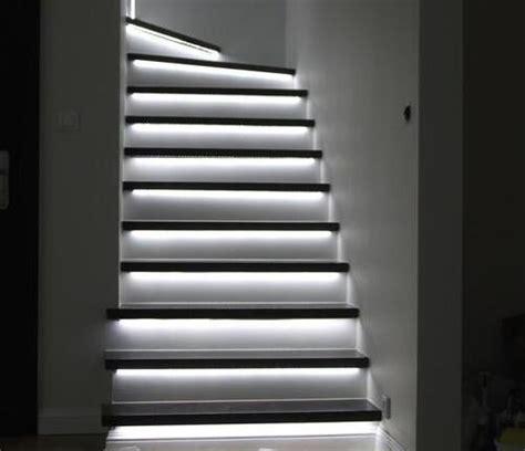 led light strips for stairs led lights for stairway design lighting