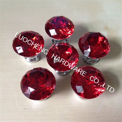 red kitchen knobs crystal knobs girls wallpaper