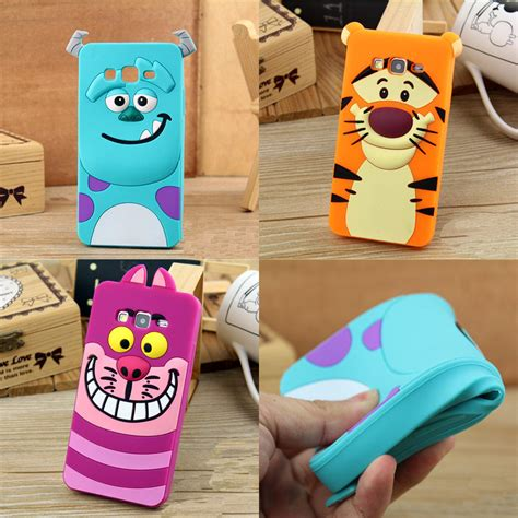 Softcase 3d Monsters Sulley Cover Casing Samsung Galaxy Tab A 70 2017 3d monsters sully tiger silicone soft cover for samsung galaxy j2 j200