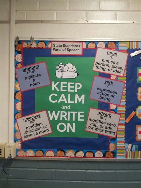 ela classroom themes language arts bulletin board ideas high school night by