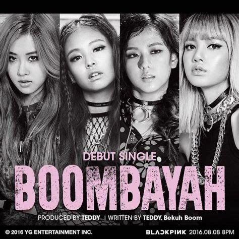 blackpink boombayah 05 august 2016 ygdreamers