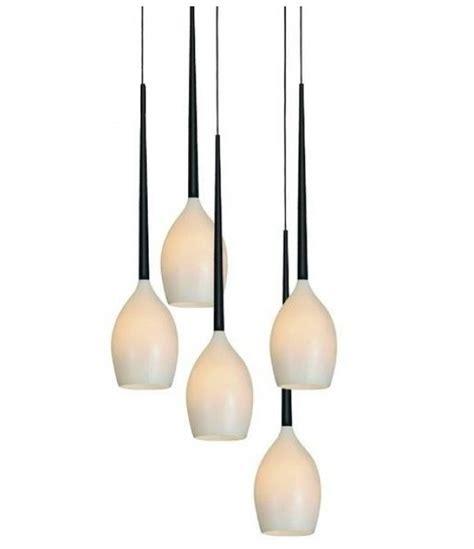 drop lights teardrop glass pendant with 5 lights
