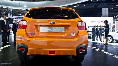 subaru crossover 2012 2012 subaru australian pricing autoevolution