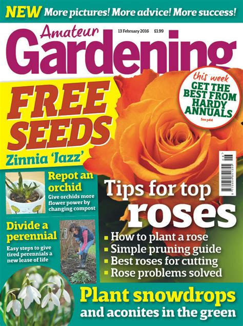 vegetable gardening magazines gardening magazine subscription competition