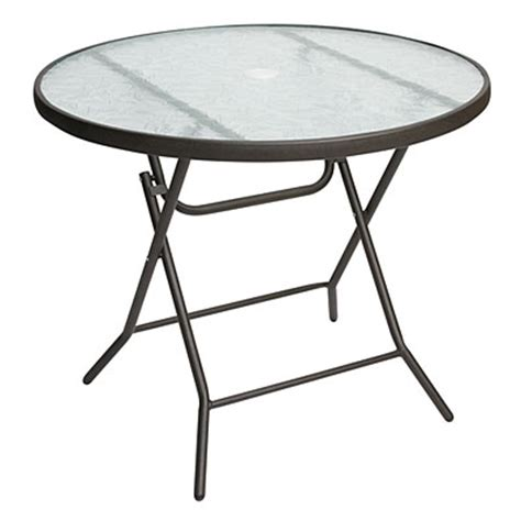 Folding Tables Big Lots by View 34 Quot Glass Top Folding Table Deals At Big Lots