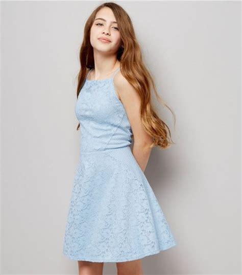 Bj 8345 Casual Blue Dress skater dresses casual dresses new look
