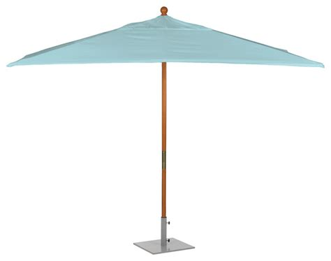 Rectangular Sunbrella Patio Umbrellas 10 Rectangle Sunbrella Umbrella Transitional Outdoor Umbrellas By Oxford Garden