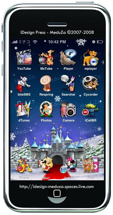 iphone themes disney release merry disney christmas theme for iphone